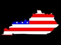 Programma dello stato del Kentucky illustrazione di stock