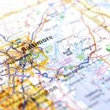 Programma di Baltimora Fotografia Stock