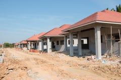 Programma di costruzione di alloggi Fotografia Stock