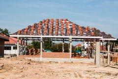 Programma di costruzione di alloggi Immagini Stock