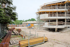 Programma di costruzione di alloggi nuovo Immagine Stock Libera da Diritti