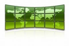 Programma di mondo Fotografie Stock