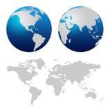 Programma di mondo Immagine Stock