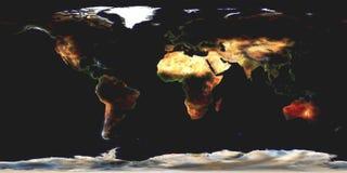Programma di mondo astratto Fotografie Stock