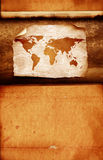 Programma di mondo dell'annata Immagine Stock Libera da Diritti
