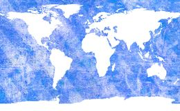 Programma di mondo invecchiato royalty illustrazione gratis