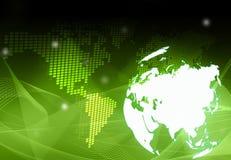 Programma di mondo - programma dell'Asia illustrazione vettoriale