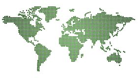 Programma di mondo verde Immagini Stock Libere da Diritti