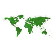 Programma di mondo verde Immagini Stock