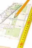 Programma di pavimento [4] immagini stock libere da diritti