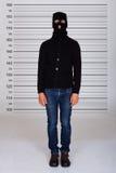 Programma di Standing Against Police dello scassinatore Fotografia Stock