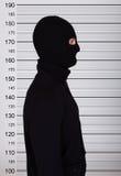 Programma di Standing Against Police dello scassinatore immagini stock