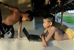 Programma di sviluppo rurale Fotografia Stock Libera da Diritti