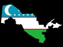 Programma di Uzbekistan royalty illustrazione gratis