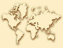 Programma globale strutturato Immagine Stock Libera da Diritti