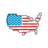 Programma S Segno dell'America Gli Stati Uniti Punto di riferimento America illustrazione vettoriale