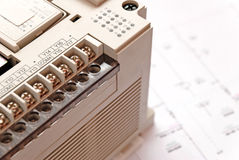 Programmable Logic Controller. Picture of a programmable logic controller Stock Photography