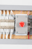 Programmable Logic Controller (PLC) in an electrical installatio Royalty Free Stock Photography
