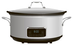 Programmable Slow Cooker Royalty Free Stock Image