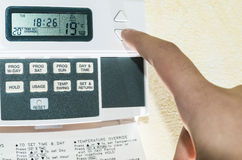Free Programmable Thermostat Royalty Free Stock Image - 35964276