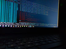Programmafout Stock Afbeelding