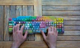 Programmation créative Photos libres de droits