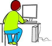 Programmatore royalty illustrazione gratis
