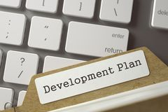 Programme de développement de fiche de sorte 3d Photo libre de droits