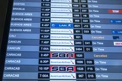 Programme de transports aériens Image libre de droits