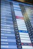Programme de transports aériens Photos libres de droits