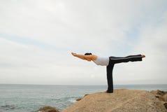 Programme test de yoga Photo libre de droits