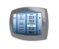 Programmeerbare digitale thermostaat Royalty-vrije Stock Afbeelding