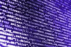 Programmer developer screen. Stock Image
