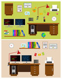 Programmer Office Space Stock Image
