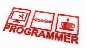 Programmer Workflow Royalty Free Stock Photos