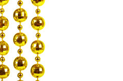 Programmes de célébration brillants de couleur d'or Images libres de droits