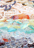 Programmes de pierre gemme Image stock