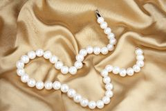 Programmes des perles Image stock