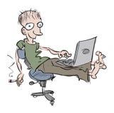 programmeur stock illustratie