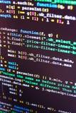 Programmeur Developer Screen stock afbeelding