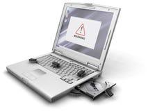 Programmfehler im System Lizenzfreies Stockbild