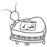 Programmfehler und Klavier vektor abbildung