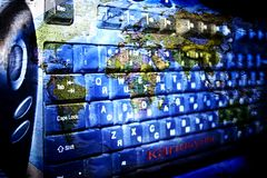 Programmi del mondo Immagini Stock