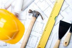 Programmi della costruzione Immagine Stock