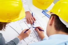Programmi di costruzione di alloggi Fotografia Stock