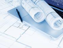 Programmi di costruzione di alloggi Immagine Stock Libera da Diritti