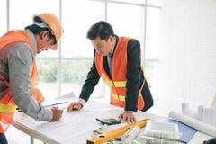 Programmi di costruzione di alloggi Immagini Stock Libere da Diritti