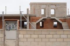 Programmi di costruzione di alloggi abbandonati Immagine Stock