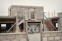 Programmi di costruzione di alloggi abbandonati Fotografie Stock