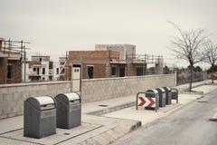 Programmi di costruzione di alloggi abbandonati Immagini Stock